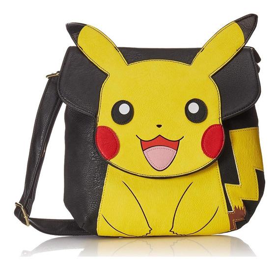 Bolsa Para Dama Crossbody Pikachu Pokémon Original Loungefly
