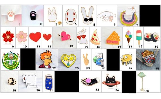 Pin / Prendedor Diferentes Diseños, Kawaii, Caricaturas