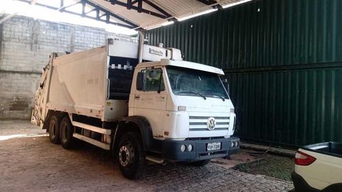 Locação Caminhão Vw 17250 Compactador De Lixo (aluguel)