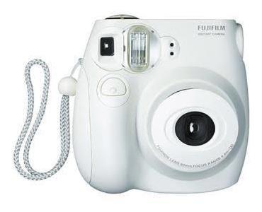 Câmera Instantânea Fujifilm Instax Mini 7s Branca Usada