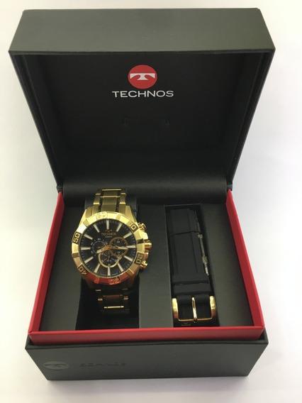 Lançamento Relógio De Pulso Technos Cronógrafo Ref:os2aajac/