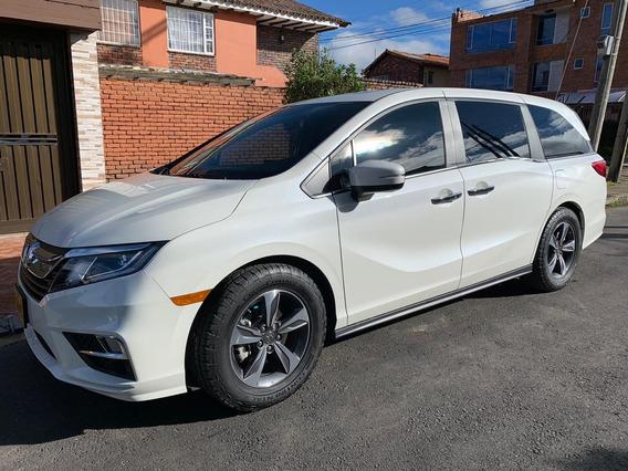 Honda Odyssey Modelo 2019 Color Blanca Placa Par