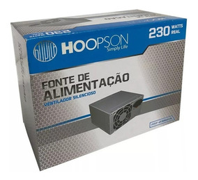 Fonte Atx 230w Real Original! Hoopson