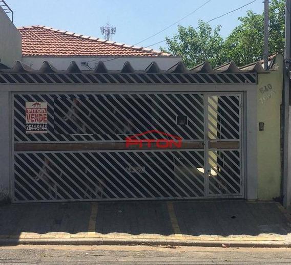 Casa Com 3 Dormitórios À Venda, 110 M² Por R$ 410.000 - Jardim Penha - São Paulo/sp - Ca0687