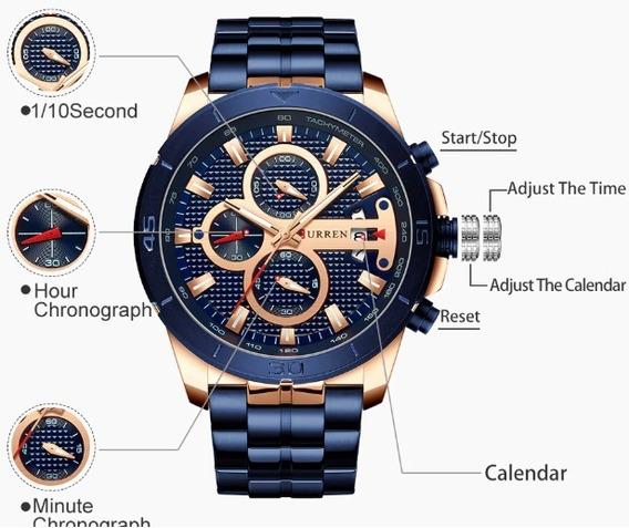 Relógios Curren 8337 - Masculino