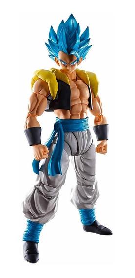 Boneco Sh Figuarts Gogeta God Blue Ssgss Dragon Ball Lacrado