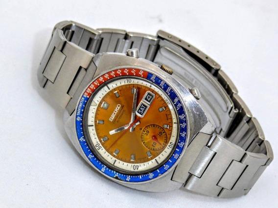 Relógio Seiko 6139-6002 Coronel Pogue Laranja Cronógrafo