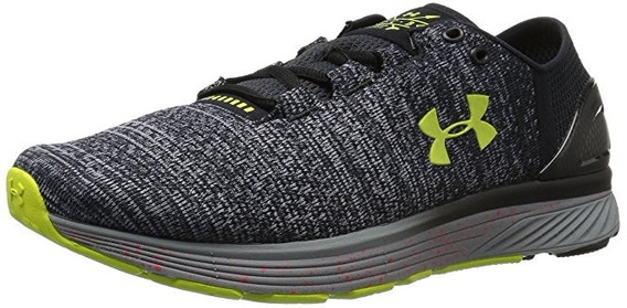 Tenis Under Armour Charged Bandit 3 Xcb- Gris 8 Us