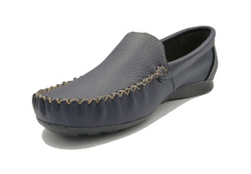 Zapato Dama Guante Mocasin Piel Negro Marino Rojo Cafe Miel