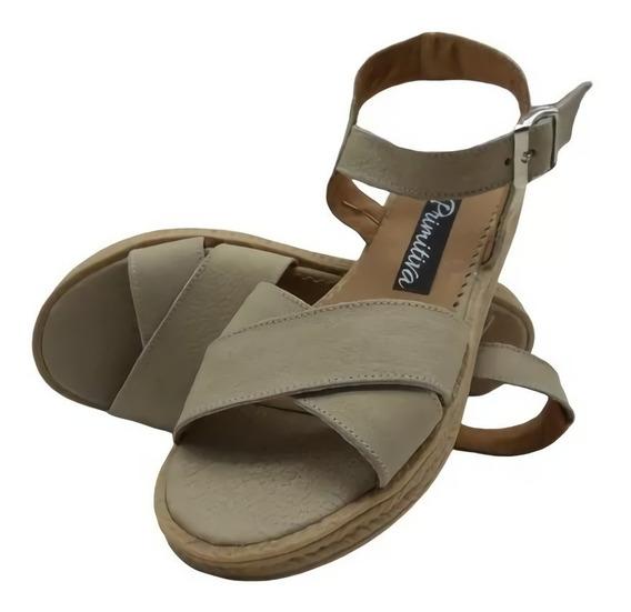 Zapatos Mujer Sandalias Baja Moda Verano 2019 Art 061