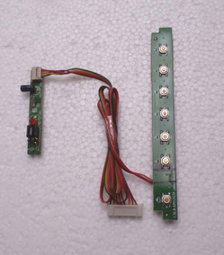 Sensor Ir + Teclado De Funções Tv Philco Ph28s63d
