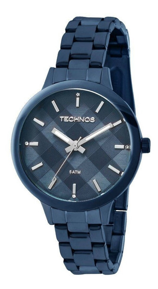 Relógio Technos Trend Feminino 2036mgl/4a Azul