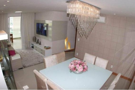 Apartamento 04 Quartos / Montado - Residencial Jardins Em Jardim Camburi - 16846