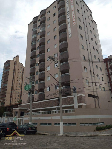 Imagem 1 de 21 de Apartamento Com 2 Dormitórios À Venda, 61 M² Por R$ 280.000,00 - Ocian - Praia Grande/sp - Ap2202