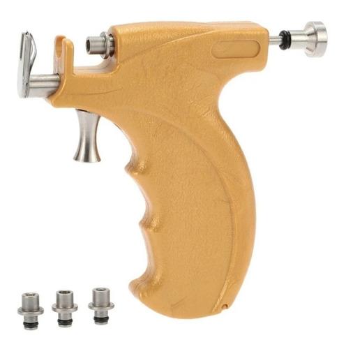 Imagen 1 de 6 de Piercing Pistola. P/nariz/oreja Profesional De Acero