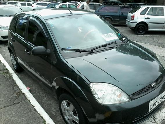 Ford Fiesta2004 Zetec Rocan 1,0 Gas Vd/tr Carro Menor Doc Ok