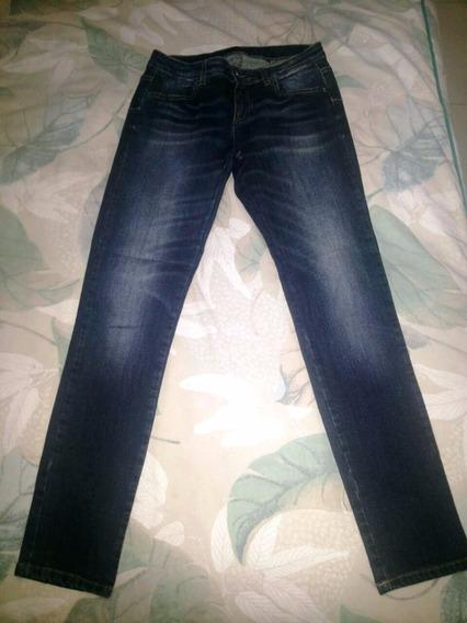 Calça Jeans Numero 38/40 Marca Sisley- Usada E Original