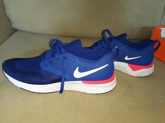 Nike Odyssey React 2 Flyknit Azul Lindo! Usado Só 2 Vezes!!!