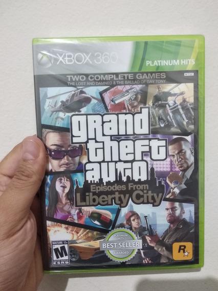 Gta - Grand Theft Auto: Episodes From Liberty City - Novo