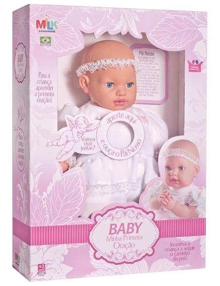 Boneca Minha Primeira Oração - Milk Brinquedos