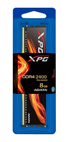 Imagen 1 de 5 de Adata Memoria Ram Ddr4 8gb 2666mhz Xpg Flame Con Disipador