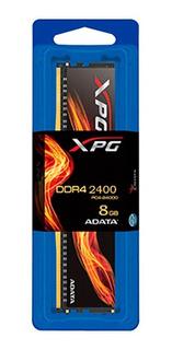 Adata Memoria Ram Ddr4 8gb 2666mhz Xpg Flame Con Disipador