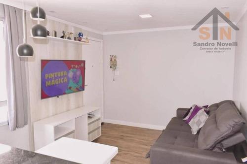 Imagem 1 de 16 de Apartamento Com 2 Dormitórios À Venda, 45 M² Por R$ 186.000,00 - Água Chata - Guarulhos/sp - Ap0194