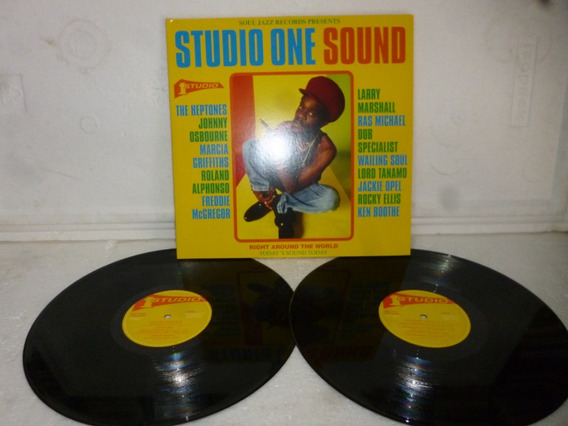 Lp Studio One Sound / Various Righ Around The World Uk