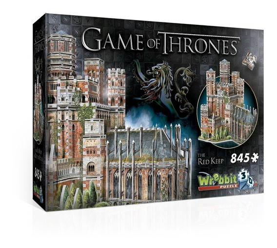 A Game Of Thrones Puzzle 3d 845 Pçs The Red Keep