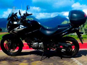 Moto Suzuki Dl 650 V Strom, Documentação Em Dia, Único Dono