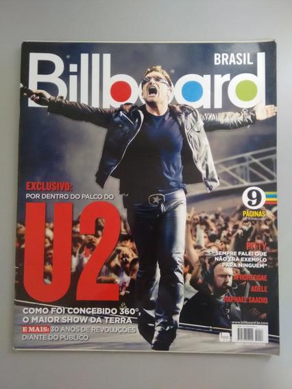 Revista Billboard 18 Pitty Adele Afroreggae Palco Do U2 Y070