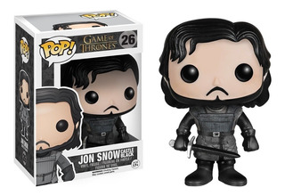 Figura Muñeco Funko Pop Games Of Thrones Jon Snow 26 Orig