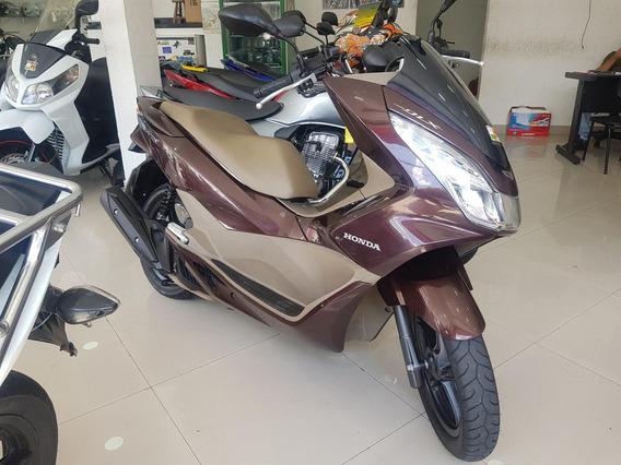 Honda Pcx Dlx 2018 Marrom 12000 Km