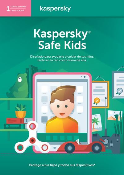 Licencia Kaspersky Safe Kids 1 Usuario 1 Año Entrega Digital