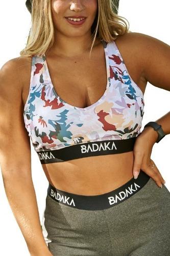 Imagen 1 de 7 de Top Deportivo Badaka Kiwi Fitness Original