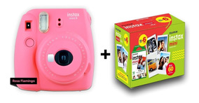 Câmera Instax Mini 9 + Filme 60 + Entrega Rápida