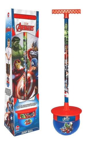 Imagem 1 de 2 de Jogo Jump Ball Líder Avengers
