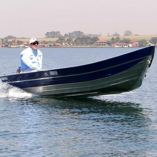 Barco De Alumínio Tornado 600 Borda Alta