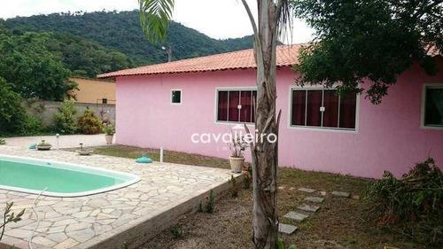 Casa Residencial À Venda, Bananal (ponta Negra), Maricá. - Ca2135