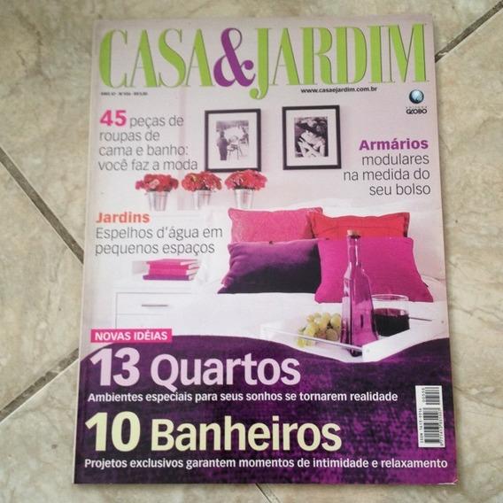 Revista Casa & Jardim 556 Maio 2001 13 Quartos 10 Banheiros