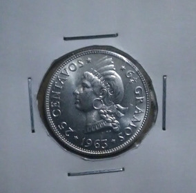 Moneda De Plata Dominicana De Coleccion