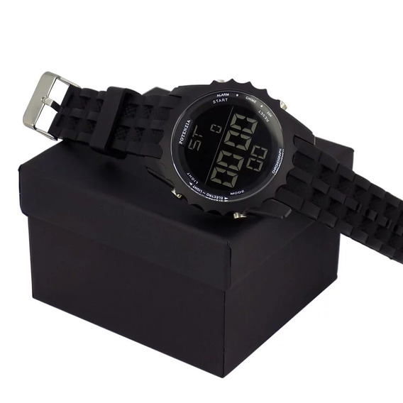 Relógio Masculino Orizom Digital Bonito Aventura + Caixa