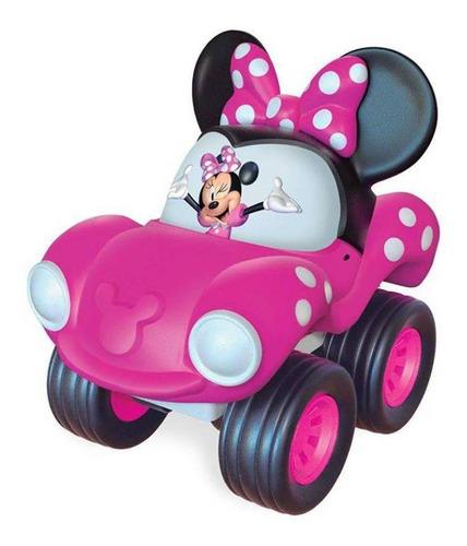 Imagem 1 de 1 de Carrinho Fofomóvel Disney Minnie Rosa Brinquedo Líder