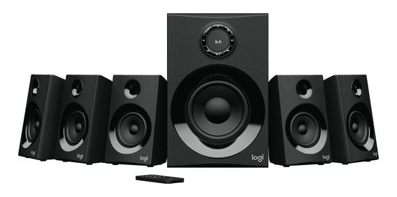 Caixa De Som Logitech Z607 5.1 Surround Bluetooth Preto