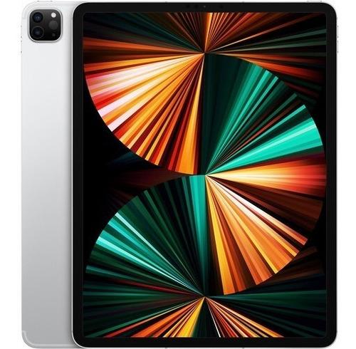 Imagem 1 de 2 de Apple iPad Pro M1 12.9 A2378 2021 128gb Silver 12x Nfe