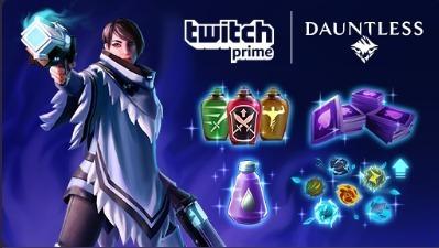 Twitch Prime / Dauntless: Pacote Itens Essenciais De Combate