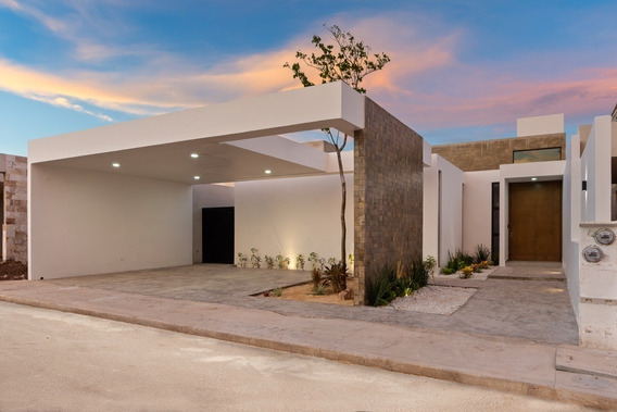 Casa Nueva De Una Planta En Venta, Mirova Modelo 1, Dzitya,