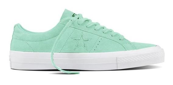 Converse One Star Ox Verde Pastel ¡ Últimas ! Envío Gratis