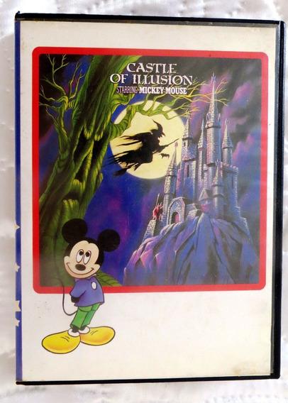 Castle Of Illusion - Excelente Jogo - Testado E Funcionando