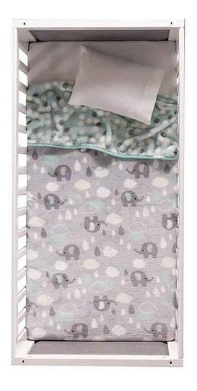 Cobertor Para Bebés Nórdico Cuna Elefantitos Vianney